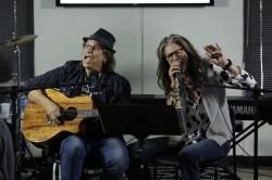 (l to r) Richie Supa and Steven Tyler