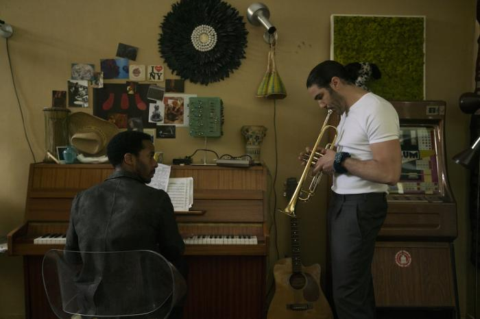 """Andrè Holland, left, and Tahar Rahim, right, in a scene from """"The Eddy."""""""