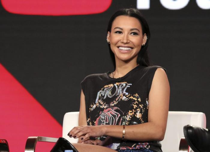 """In this Jan. 13, 2018, file photo, Naya Rivera participates in the """"Step Up: High Water"""" panel during the YouTube Television Critics Association Winter Press Tour in Pasadena, Calif."""