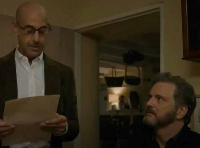 Stanley Tucci and Colin Firth in 'Supernova'