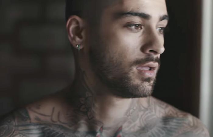 """Zayn in his music video for """"Better."""""""