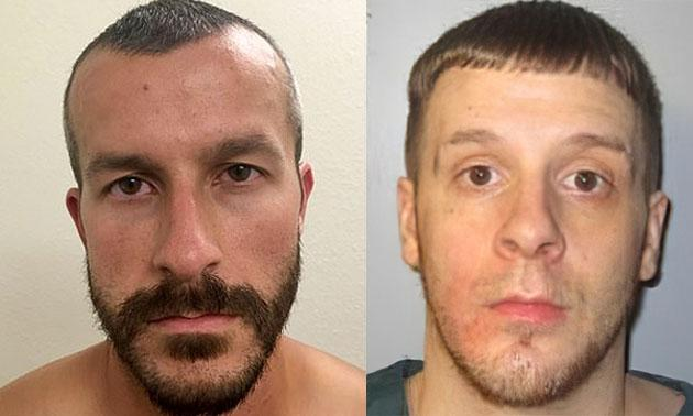 Chris Watts, left, and Dylan Tallman