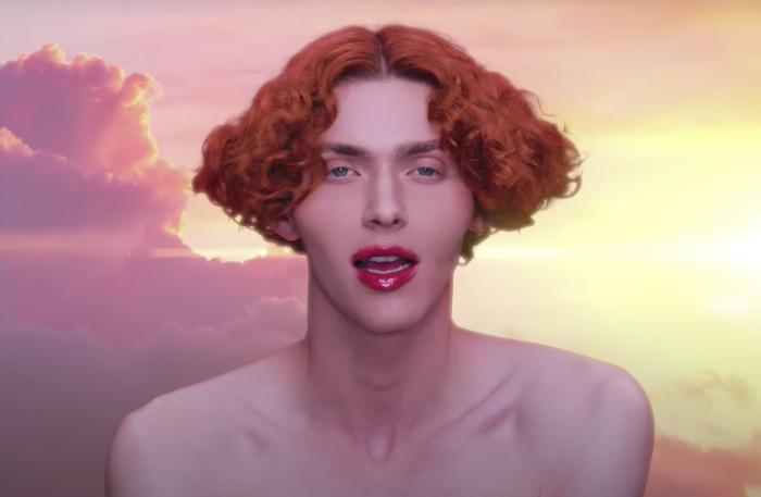 "Sophie in her music video for ""It's Okay to Cry."""