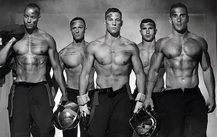 On Fire: French Firefighters Celebrated with Sexy Photobook