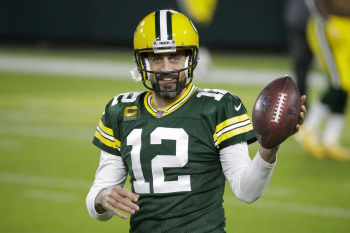Green Bay Packers' Aaron Rodgers