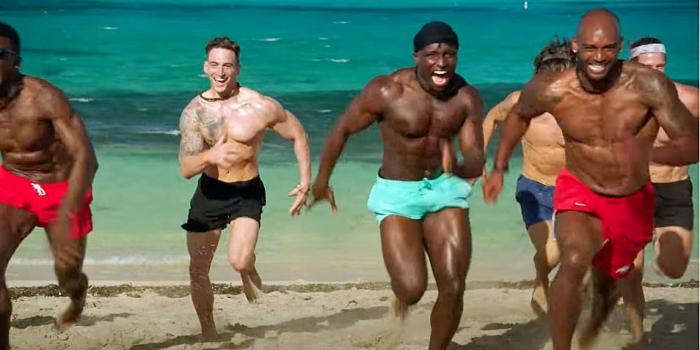 """Contestants from the upcoming HBO Max dating reality series """"FBoy Island."""""""