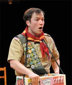 Michael Mahler in The 25th Annual Putnam County Spelling Bee.