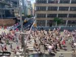 Alt NYC Pride March Draws Thousands, with Police Clashes, Stabbings and Partying Into the Night