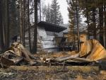 Aluminum Wrap Used to Protect Homes in California Wildfires